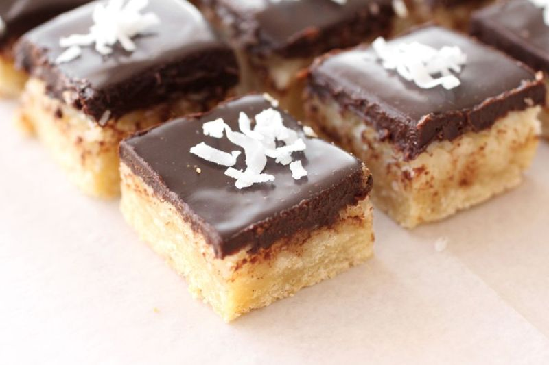 Chocolate and Coconut Bars