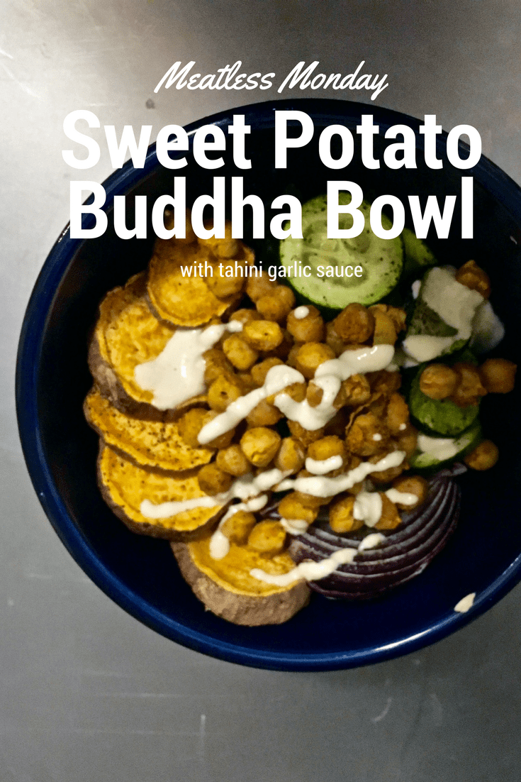 Sweet potato buddha bowl recipe