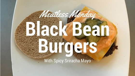 Meatless Monday Black Bean Burgers
