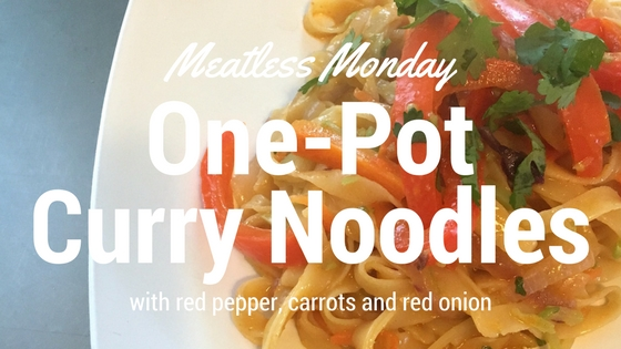 One-Pot Meatless Curry Noodles