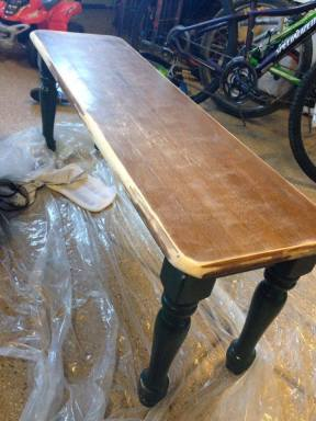 bisty bench before