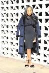 Style-Files-Vero-Moda-Blue-Black-vmellen-esta-long-jacket- vero-moda-blue-black-shearling style-coat-Who-What-Wear-Sheer-Lace-Ruffle-Blouse-Forever-21-highwaiste-knit-black-skirt-ALDO-Faeri-fur-sandals-oohlalablog-2