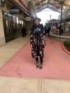 Style-Files-Black-floral-kimono-black-denim-jeans-HM-laugh-more-sweatshirt-justfab-teal-velvet-Acacia Heeled Sandals-Topgolf Charlotte-review-birmingham-top-bloggers-alabama-style-bloggers-oohlalablog-