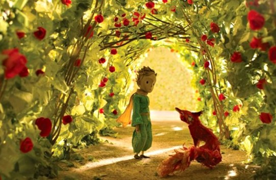 Image result for t images of the fox whispering to the little prince