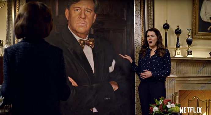 Image result for gilmore girls a year in the life richard