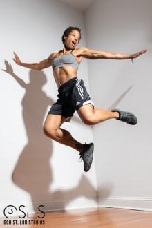 Sharon Hazel In-Studio Fitness Shoot ©2018 Ooh St. Lou Studios ©2018 Ooh St. Lou Studios