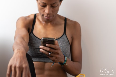 Sharon Hazel In-Studio Fitness Shoot ©2018 Ooh St. Lou Studios