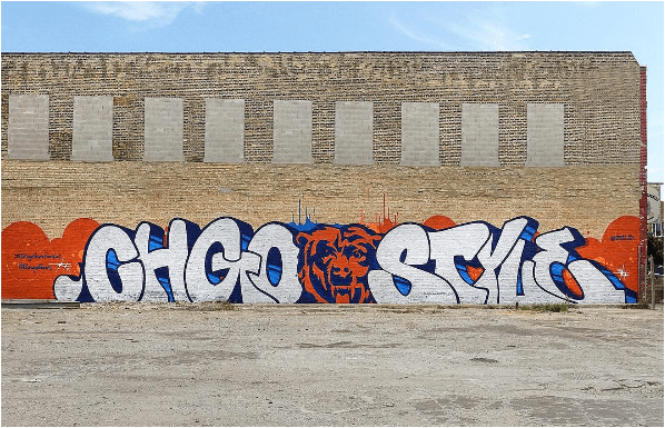 chicago style mural