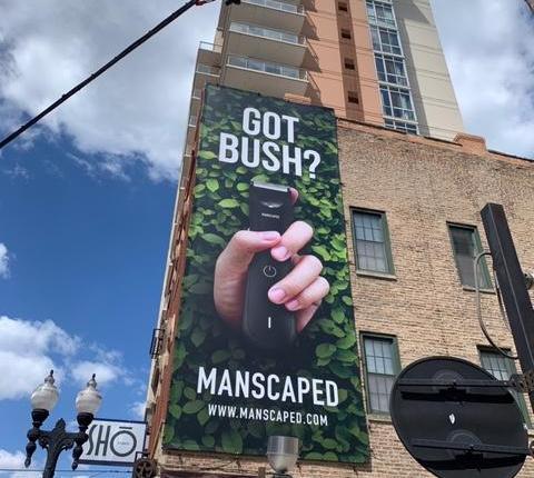 got bush manscaped wall chicago 0 (1)