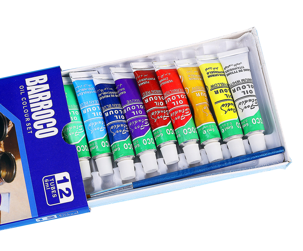 12colors/set Professional Oil paints colors painting drawing pigments art  supplies art set oil painting set with1 brush | Oh, Oh, I See