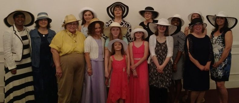 ladies of ooltewah church of christ on hat day