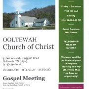 Ooltewah Gospel Meeting