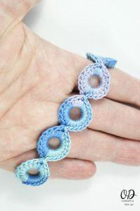 Bracelet Finished   Infinite Hope Set   Free Pattern @OombawkaDesign