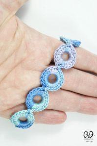Bracelet Finished | Infinite Hope Set | Free Pattern @OombawkaDesign
