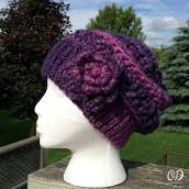 Enchanted Infinity Slouch Hat | Free Pattern @OombawkaDesign