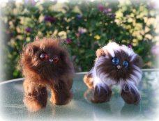 Choc and Choc pt | Little Oombawkas | Mini Meow CAL | OombawkaDesign