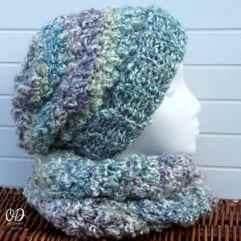 with scarf   Simply scrumptious Hat   Free Crochet Pattern oombawkadesigncrochet.com