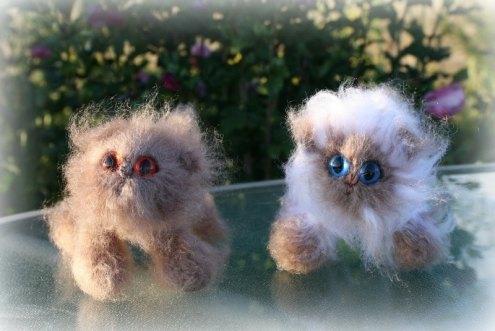Lilacs | Little Oombawkas | Mini Meow CAL | OombawkaDesign