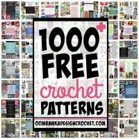 1000 Free Crochet Patterns