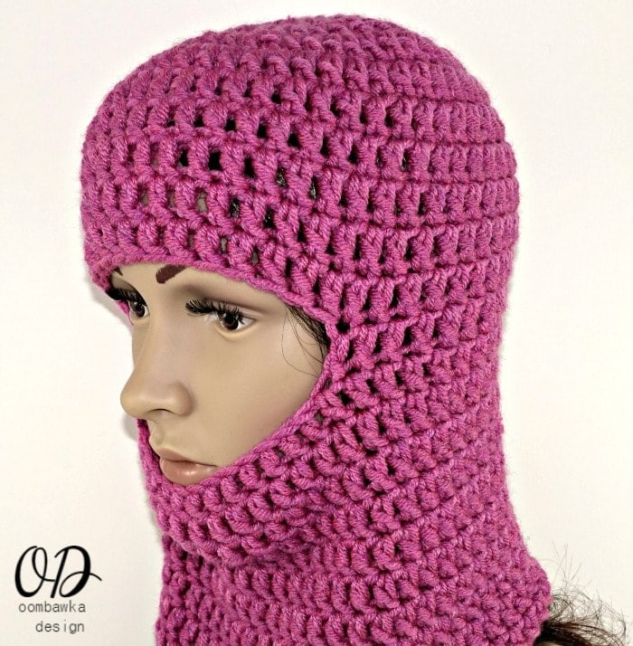 Face Mask Free Crochet Pattern