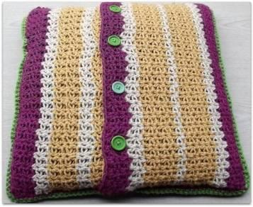 AG Handmade Test Square - Made into a pillow