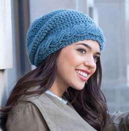 Captivating Cable - Urban Slouch Hats - Kristi Simpson - Leisure Arts - Review