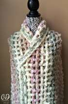 1 Gentle Solace Prayer Shawl | Friendship Shawl | Free Pattern @OombawkaDesign