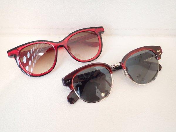 真っ赤なフレームのサングラスはいかが? THIERRYLASRY(ティエリーラスリー)OLIVERPEOPLES(オリバーピープルズ)-OLIVER PEOPLES THIERRY LASRY その他
