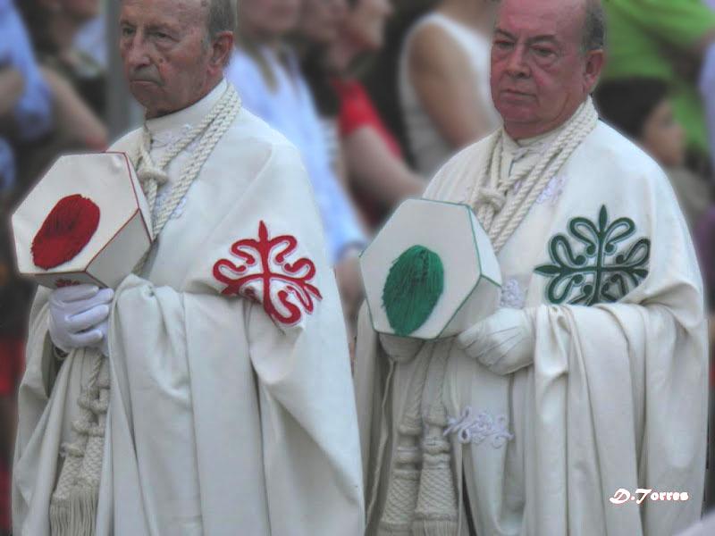 Celebración de Corpus Christi en Ciudad Real 2012