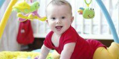 الطفل في الشهر السادس نومة وطعامة وتمارينة واهم النصائح بتربيته