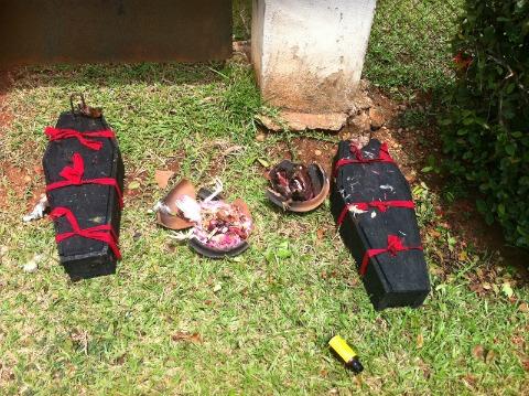 JuJu Coffins in Uniben