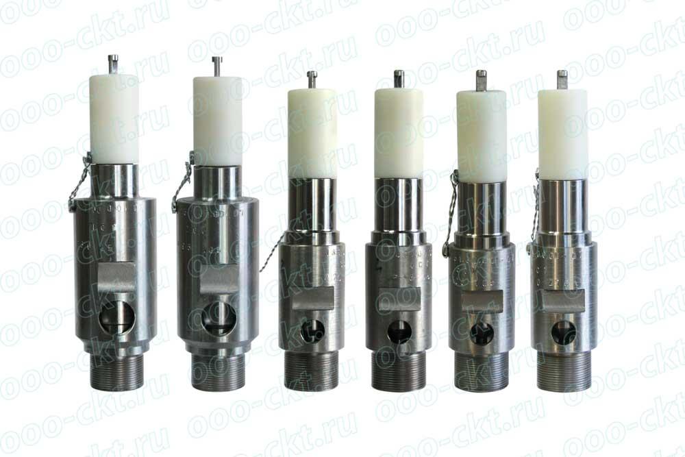 Предохранительные клапаны компрессора 4ГМ2,5-10/251