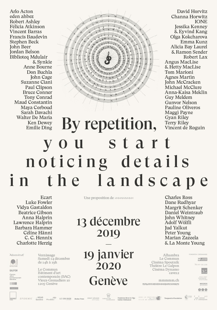 by repetition you start notiving details in the landscape biblioteq mdulair daniel maszkowicz