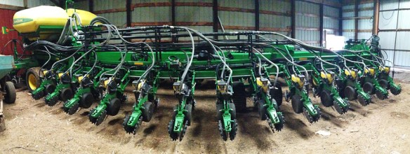 24m precision drill with custom made solid fertiliser application