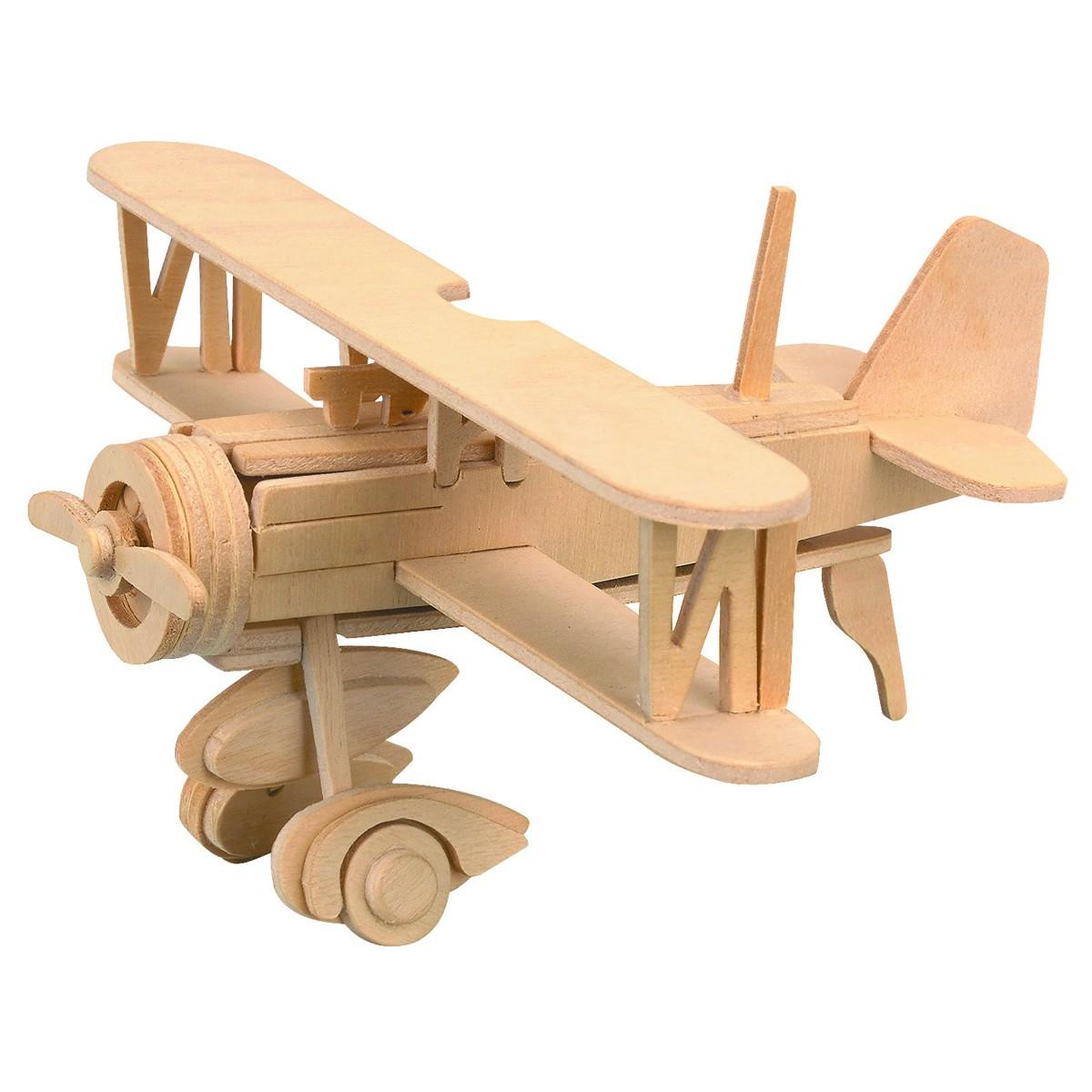 Kid Rocking Biplane Plans