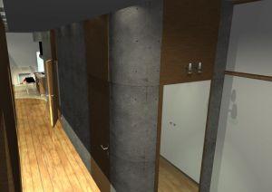 Architekt Pabianice OOO studio Architektura i Design portfolio projekt wnetrza mieszkanie 1