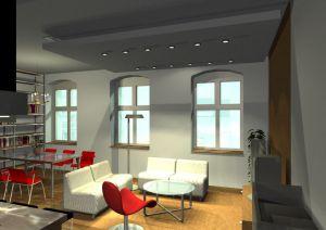 Architekt Pabianice OOO studio Architektura i Design portfolio projekt wnetrza mieszkanie 10