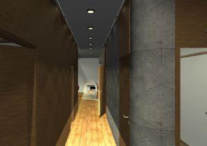 Architekt Pabianice OOO studio Architektura i Design portfolio projekt wnetrza mieszkanie 2