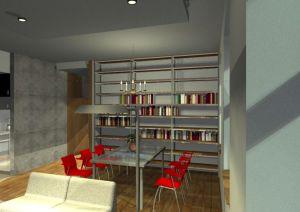 Architekt Pabianice OOO studio Architektura i Design portfolio projekt wnetrza mieszkanie 6