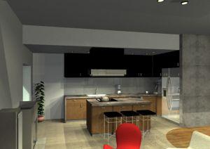 Architekt Pabianice OOO studio Architektura i Design portfolio projekt wnetrza mieszkanie 7