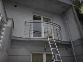 Architekt Pabianice OOO studio Architektura i Design stal nierdzewna balustrada balkonowa nietypowa na zamowienie 1