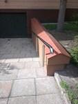 Architekt Pabianice OOO studio Architektura i Design stal nierdzewna balustrada pochylnia nietypowa rury 3