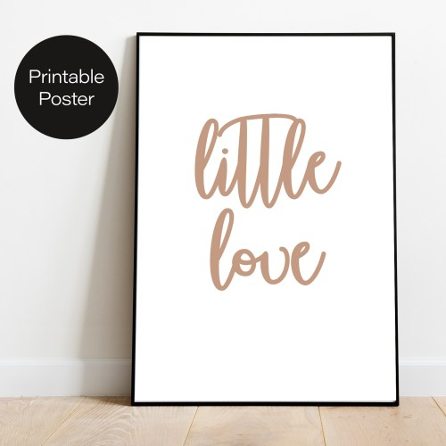 OOPS Printable Poster Litte Love