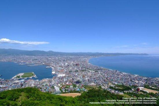 函館山 眺め