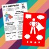 Daisy Doodles - Superhero