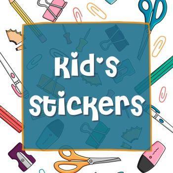 Kids Sticker Range