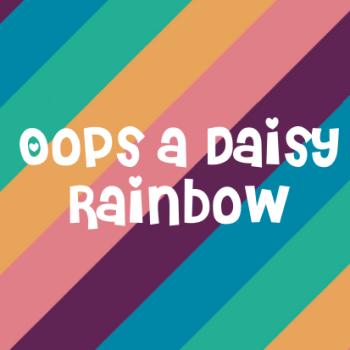 Oops a Daisy Rainbow Sticker Range