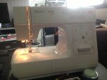 November: My first sewing machine - now it's time to learn how to sew!