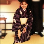 April: Tea ceremony in Japan - while wearing a kimono!