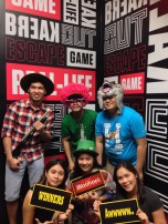 August: Tried out the popular escape room challenge.